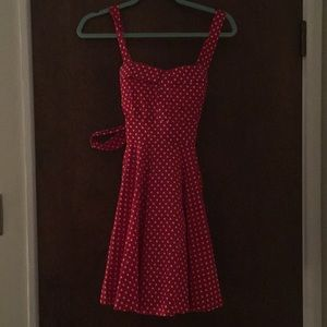 Dresses & Skirts - Vintage Polka Dot Dress